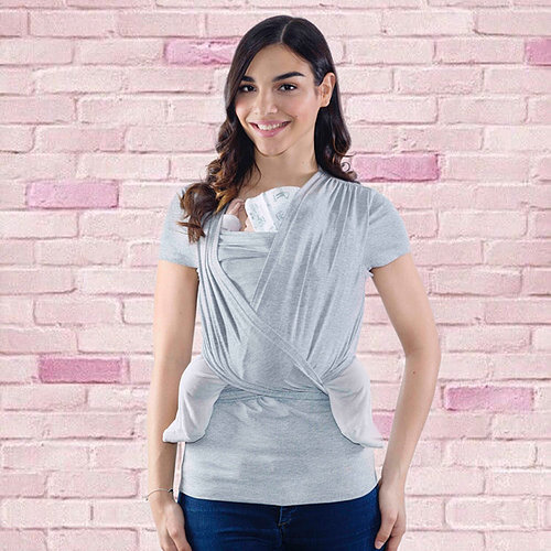 Camiseta portabebé gris