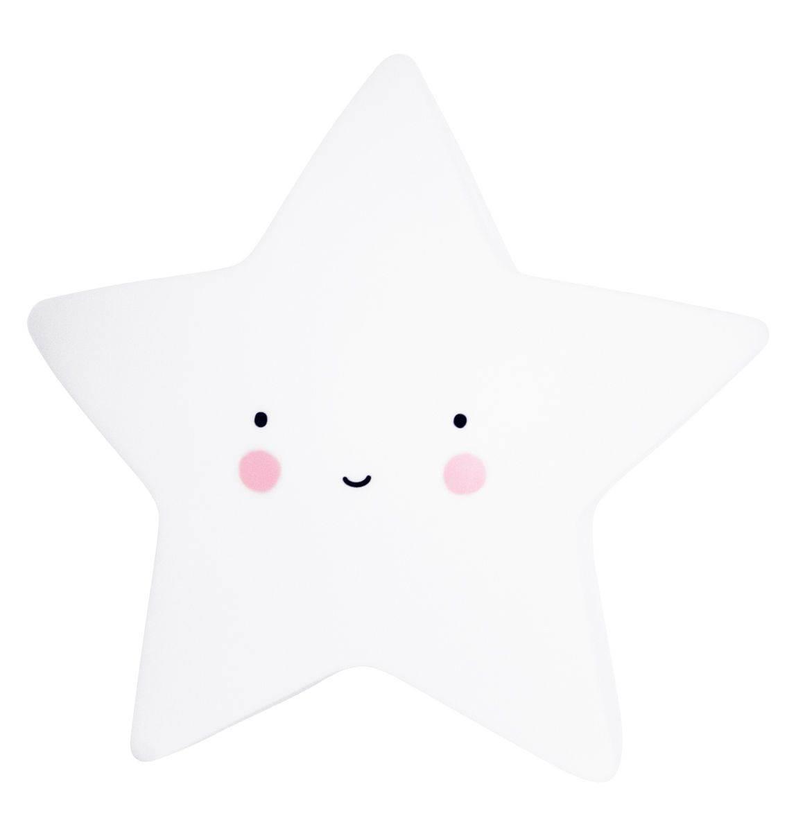 lampara estrella blanca