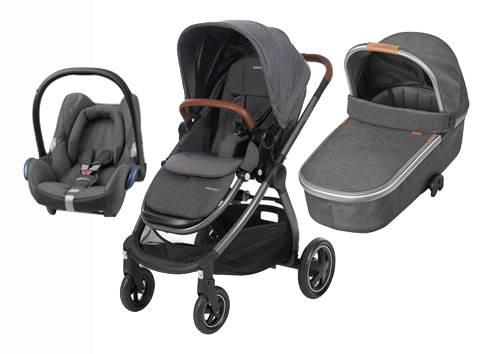 Bebe Confort ADORRA coche trio con cuco ORIA y CABRIO  Sparkling Grey
