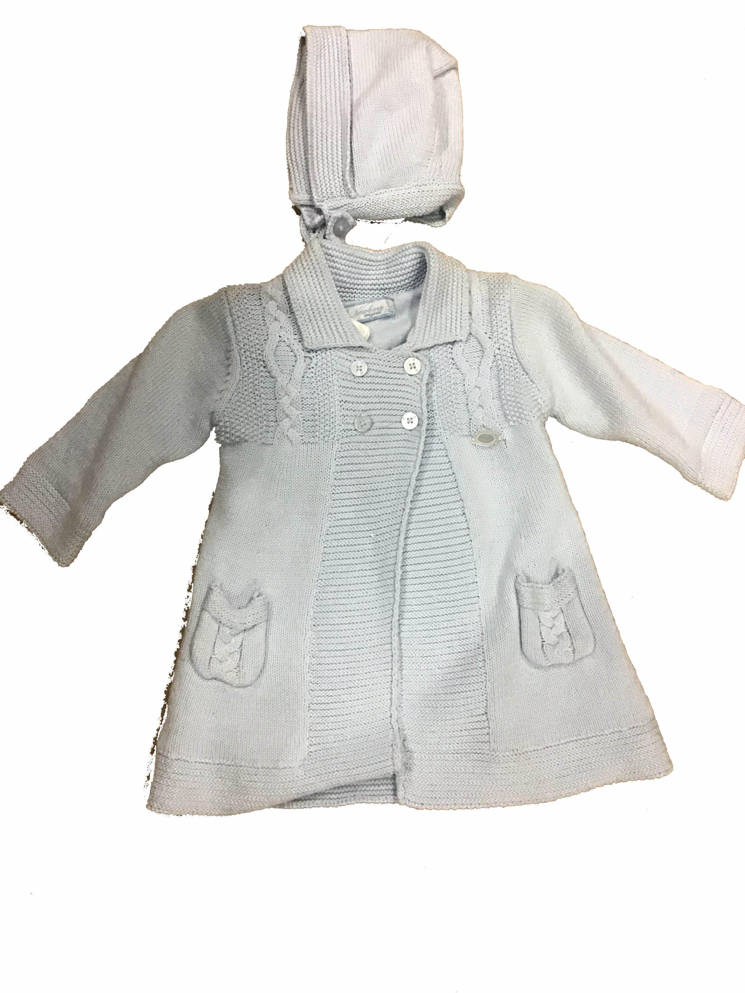 Abrigo tricot nata
