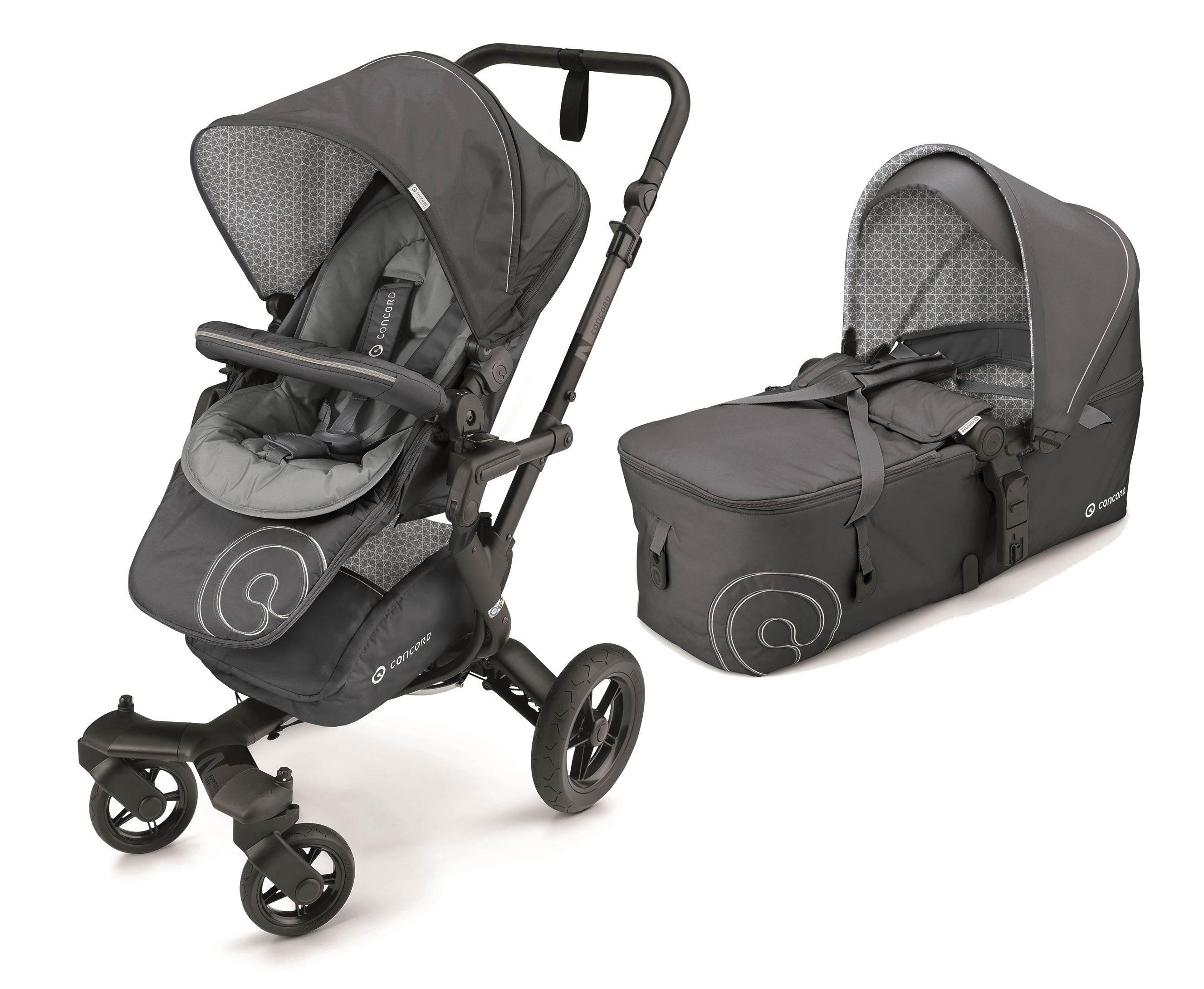 NEO BABY-SET coche duo capazo plegable