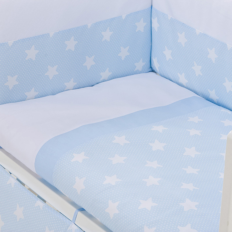 Estrellas grandes azul