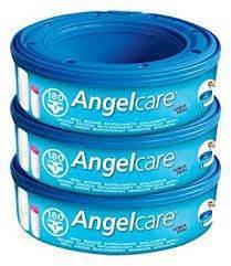 Angelcare pack 3 recambios bolsa papelera de pañales