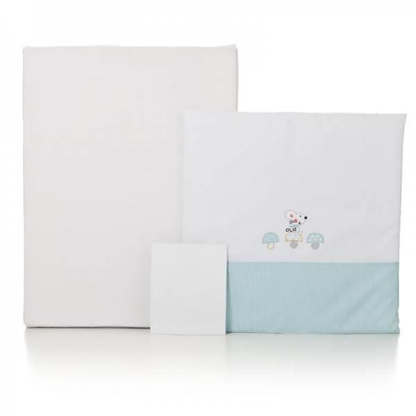 Textil minicuna colecho OSLO edredón+bajera+colchón