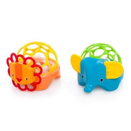 OBALL mordedor Rolie rattles