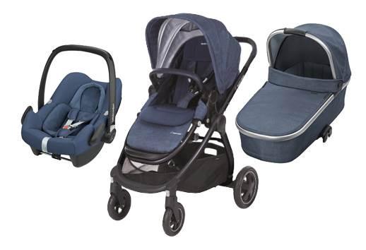 Bebe Confort ADORRA coche trio con cuco ORIA y ROCK  Nomad Blue