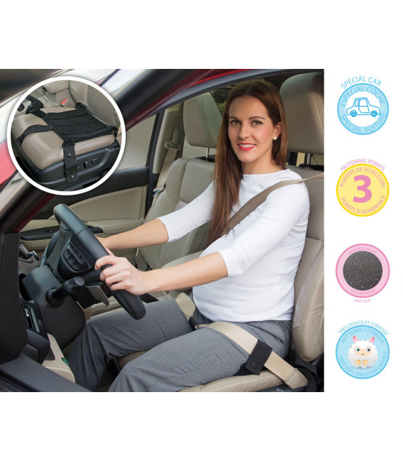 Cinturón de auto para embarazadas