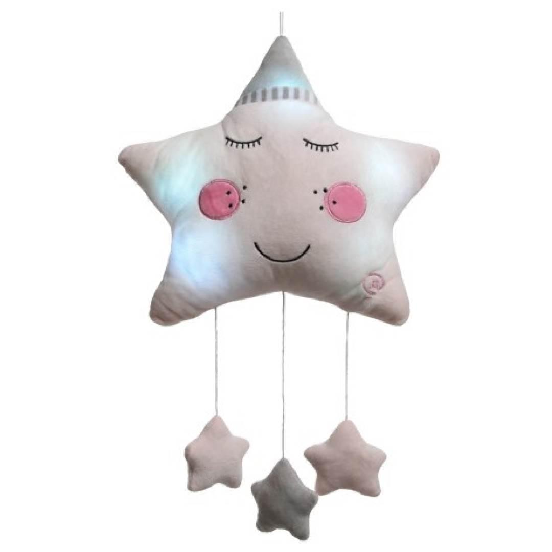 Movil estrella con luz led