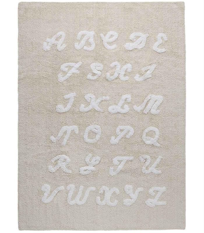 alfombra lavadora ABC CREMA