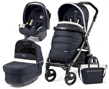 coche BOOK 51 capazo plegable  Trio+bolso REGALO-BASE ISOFIX