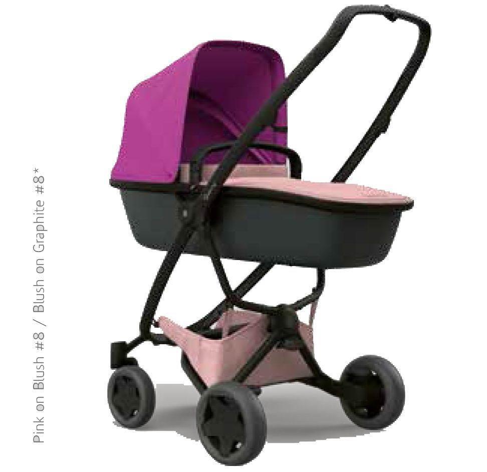 coche ZAPP FLEX rosa-fusia