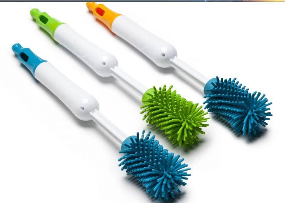 Cepillo limpia biberones y tetinas