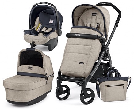 coche BOOK 51S capazo plegable  Trio+bolso REGALO-BASE ISOFIX