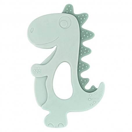 Mordedor de silicona dinosaurio  mint