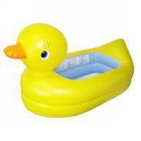 Bañera inchable pato