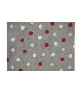 alfombra TOPOS lavable tricolor
