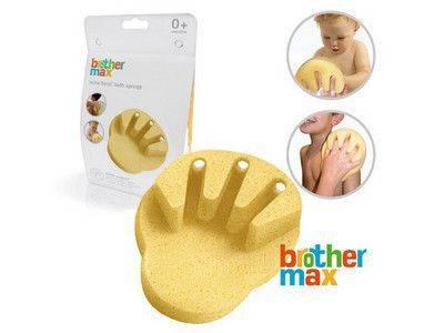 esponja baño dedos