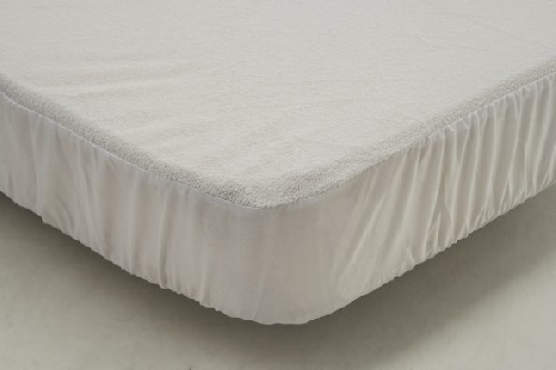 protector rizo poliuretano  80x50cm minicuna