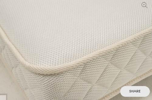 colchón 80x130 muelles-coco funda aire