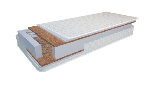 colchón 57x117 muelles-coco funda aire