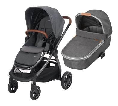 Bebe Confort ADORRA coche duo con cuco ORIA  Sparkling Grey