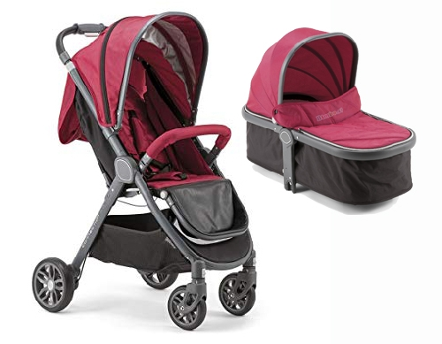 Coche duo CONNECTION capazo y silla