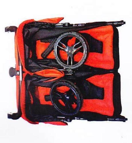 Easy twin 2.0 Coche gemelar 2 capazos+2 sillas