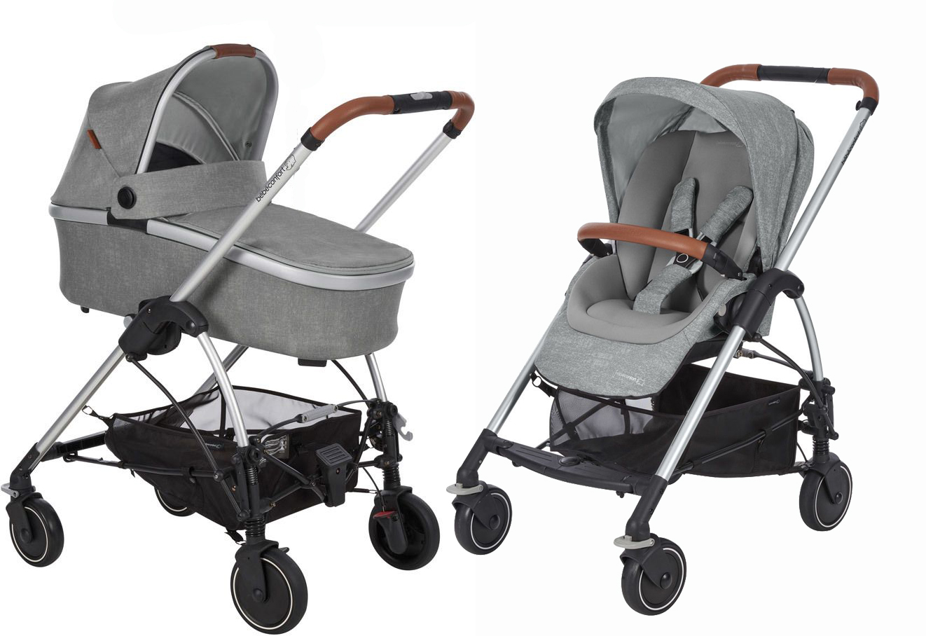 Coche duo MYA nomad grey