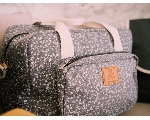 Bolsa maternidad liberty dark grey