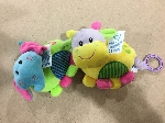 peluche animal musical 18cm-