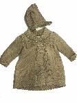 abrigo lana topo