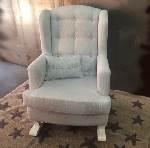sillón mecedora VERSALLES arco blanco