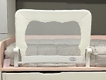 barrera cama 90 blanca