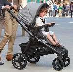 TEAM coche trio con bolso - capazo rigido-