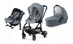 trio EVOSTAR LIGTH 1  silla + capazo + evoluna I-size + base isofix