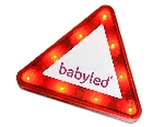 BABYLED triangulo luminoso
