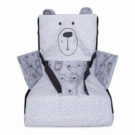 TRONA PORTÁTIL WEEKEND BEARS GRIS
