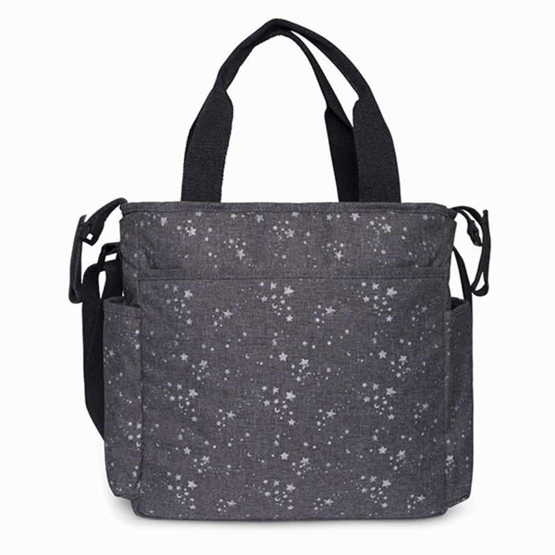 BOLSO COCHECITO + CAMBIADOR + PORTA DOCUMENTOS WEEKEND CONSTELLATION GRIS