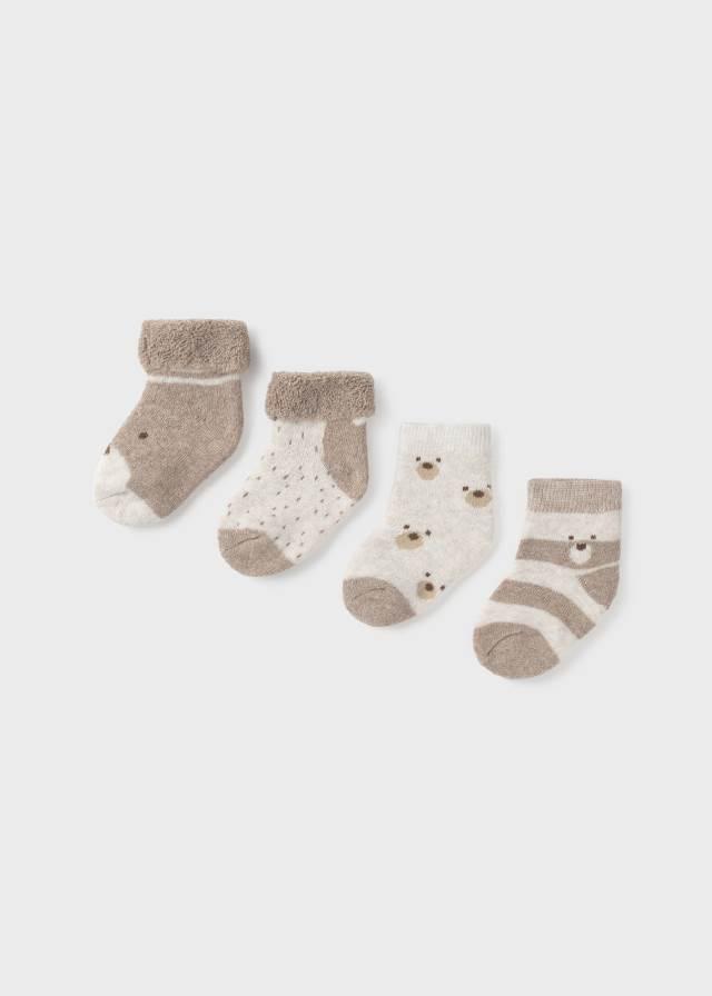 Set 4 calcetines recien
