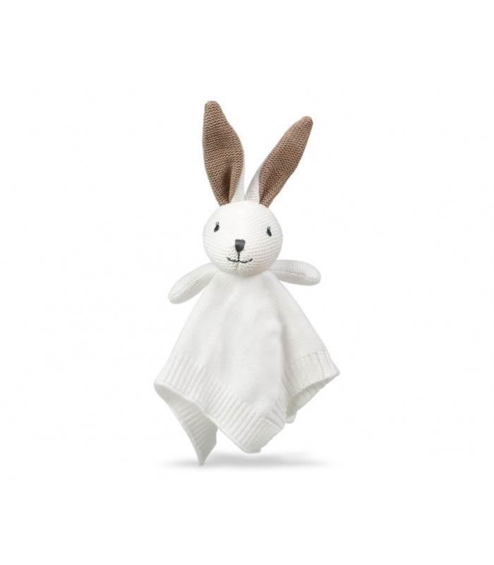 Doudou de ganchillo Conejo