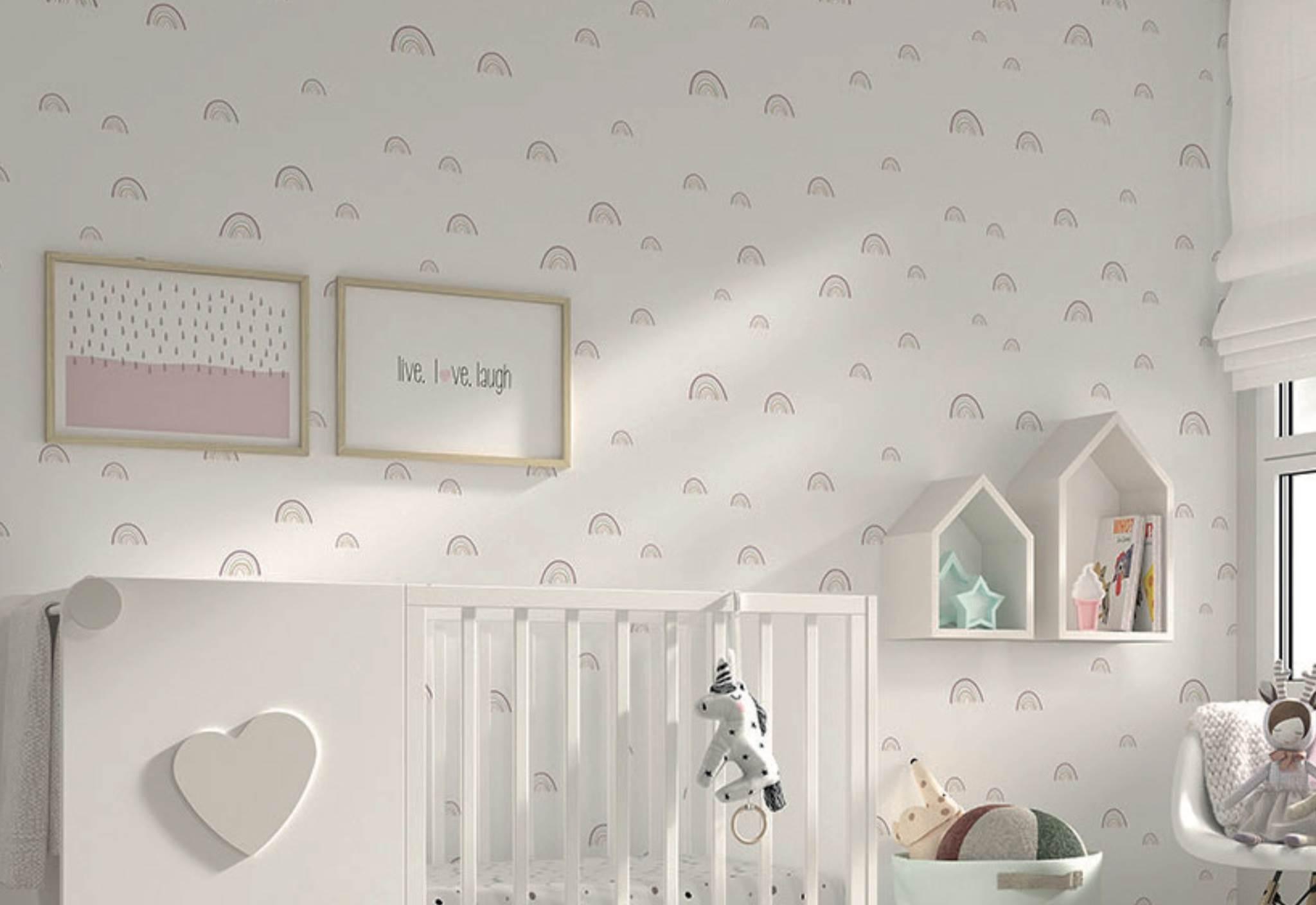 Papel pintado decorativo ARCO IRIS