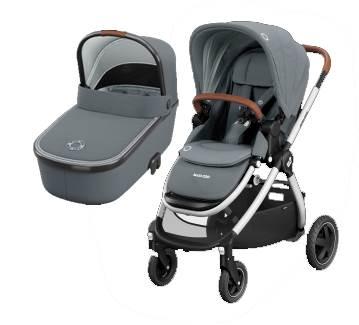 Maxicosi  ADORRA coche duo con cuco ORIA  Essential Grey