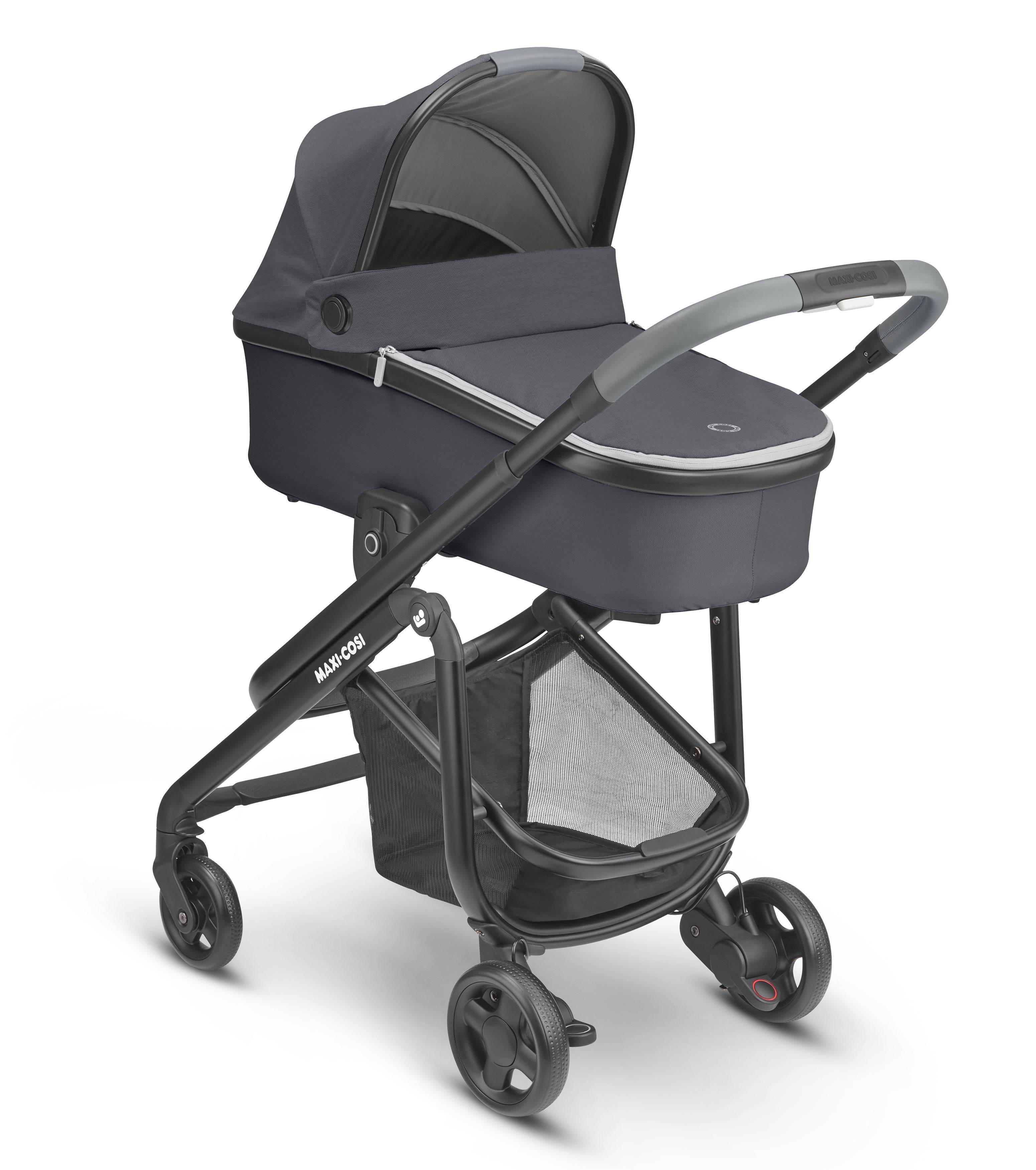 Coche duo LILA SP con capazo ORIA Essential graphite y G-0 Cabrio de REGALO